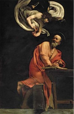 David Linley's favourite painting, St Matthew and the Angel by Michelangelo Merisi da Caravaggio.