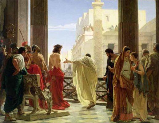 Jeffrey Archer's favourite painting, Ecce Homo by Antonio Ciseri.