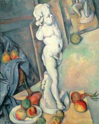 John Kasmin's favourite painting, Still Life with Plaster Cast by Paul Cézanne.