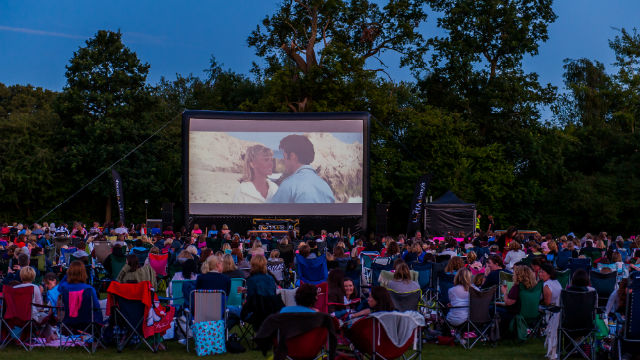 UK outdoor cinemas