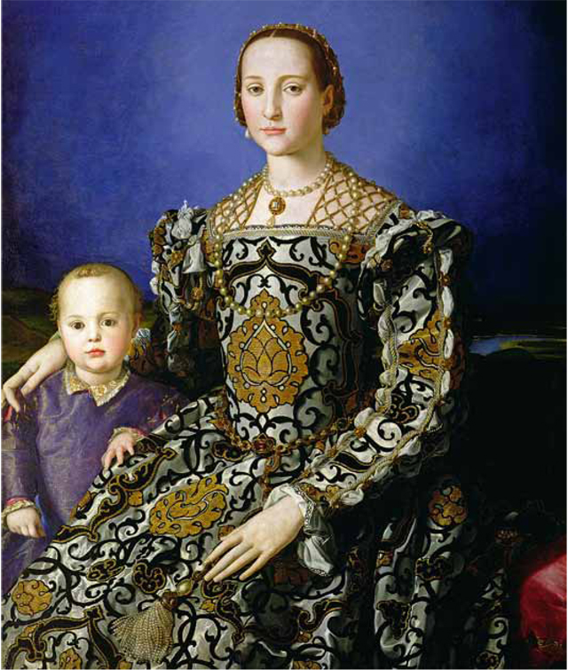 Olga Polizzi's favourite painting, Eleonora di Toledo with her son Giovanni by Bronzino.