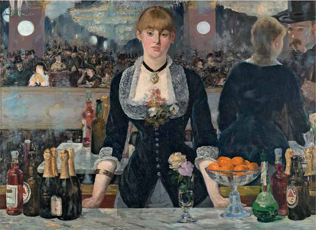 Rowley Leigh's favourite painting, A Bar at the Folies-Bergère by Edouard Manet.