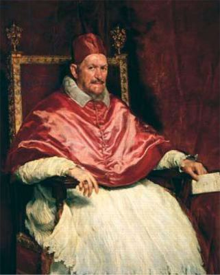 Stephen Fry's favourite painting, Pope Innocent X by Diego Velázquez.