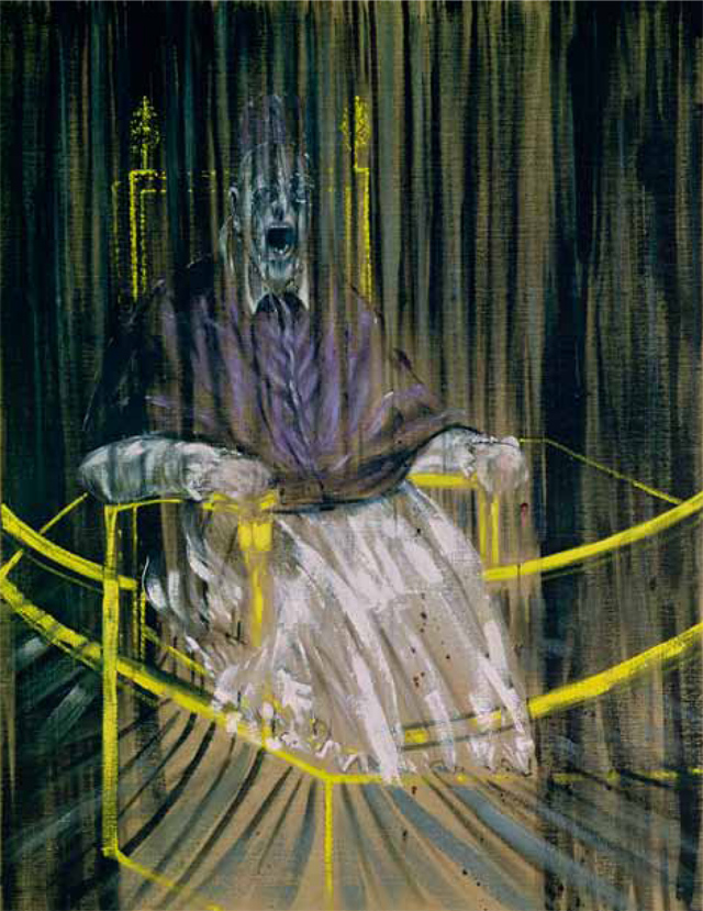 Tamara Rojo's favourite painting, tudy after Velázquez's Portrait of Pope Innocent X by Francis Bacon.
