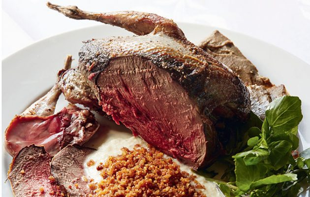 Simon Hopkinson's roast grouse recipe (Picture by Jason Lowe)