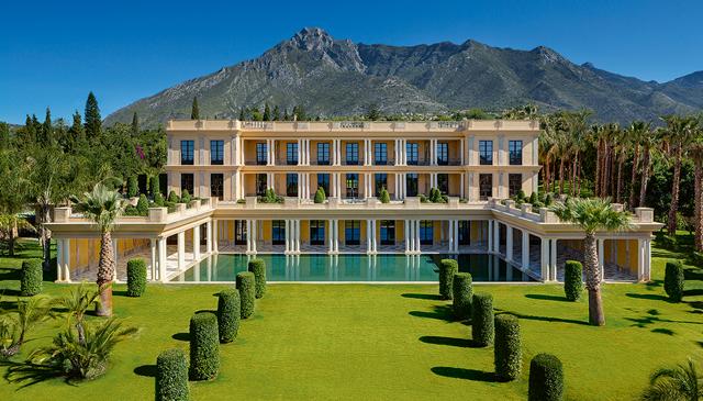 Million pound property Marbella