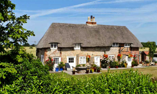 Chichester thatched cottage for sale