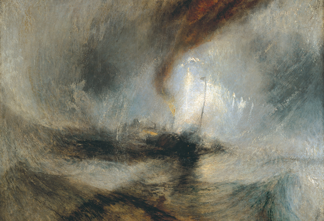 Snow Storm by Turner at Tate