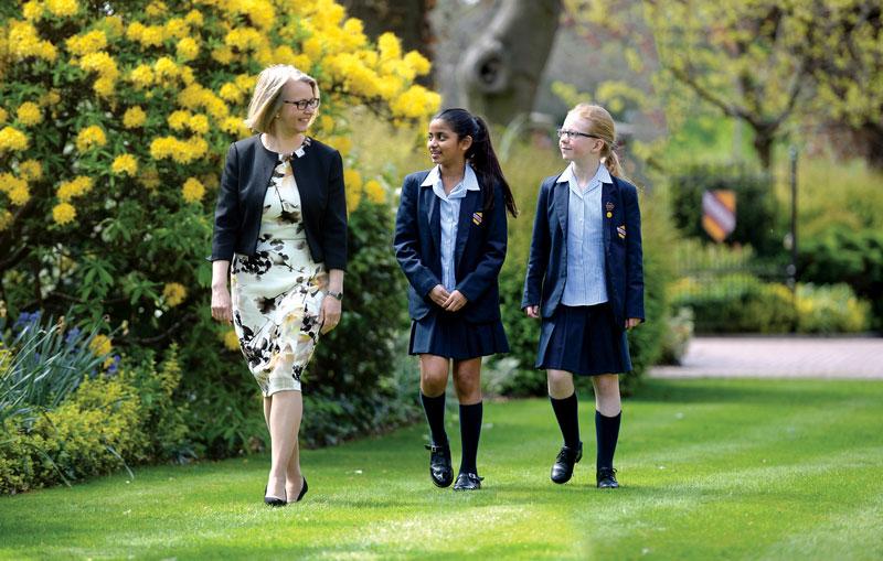 Withington Headmistress Mrs Sarah Haslam