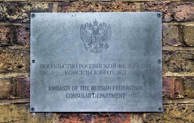 london's embassies valued for the first time