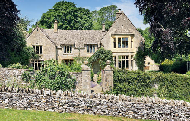 classic Cotswold stone house