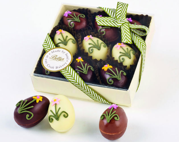 Best easter eggs country life the perfect gift for any easter dinner party or gathering these eggs are all individually hand decorated with spring flowers this includes a selection of negle Images