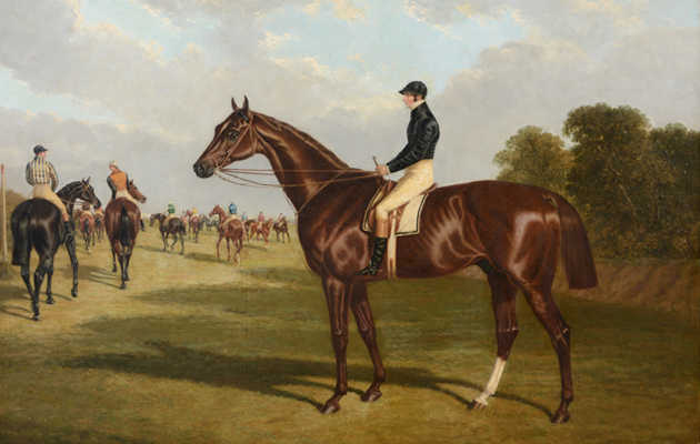 Famous Thoroughbreds immortalised in paint to be auctioned