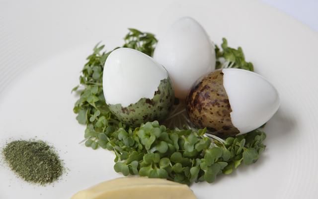 Le Caprice recipe gull's eggs