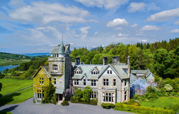 scottish castles and estates for sale