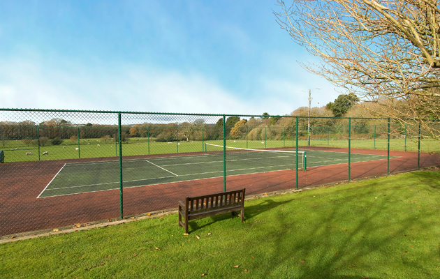 homes with tennis courts for sale