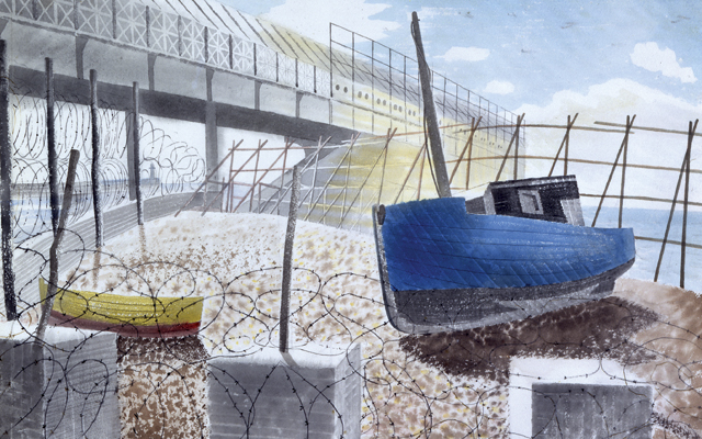 Eric Ravilious at Dulwich Picture Gallery