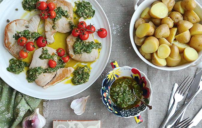 New potato recipes country life - New potatoes recipes treat ...