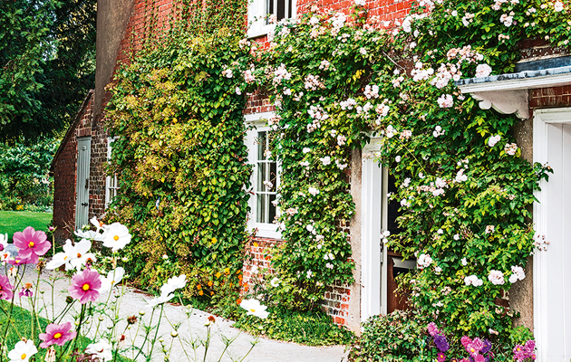 Jane Austen's House, now a museum, in Chawton, Hampshire, England