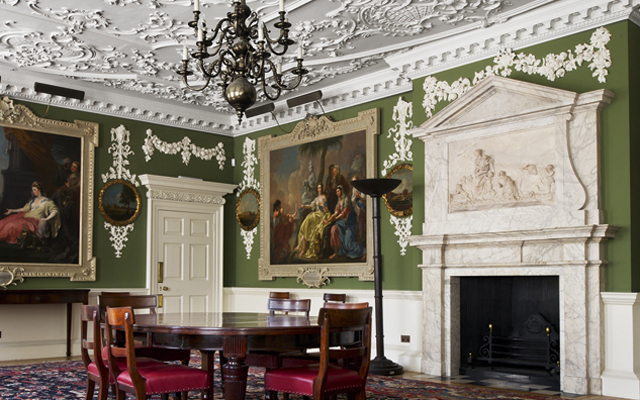 Lines of beauty at the Foundling Museum