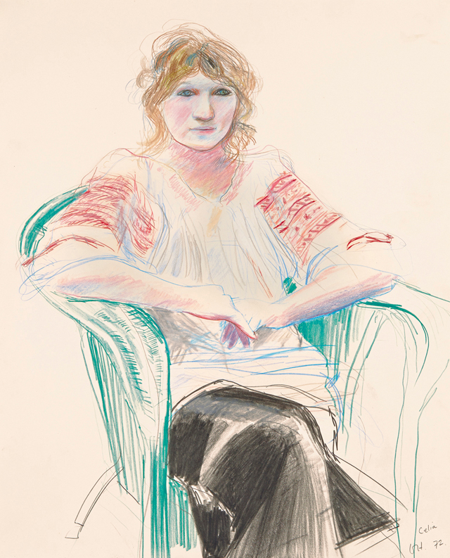 David Hockney, Early Drawings at Offer Waterman