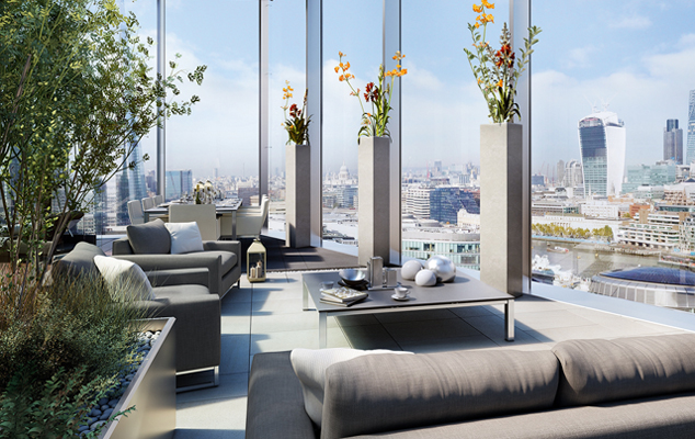 The hottest new london apartments country life - The penthouse apartment in kiev when nature meets modern ...