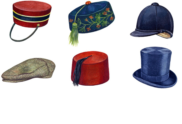 hats feature - country life