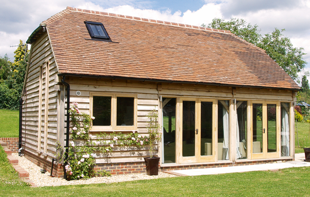 The beauty of oak frame buildings