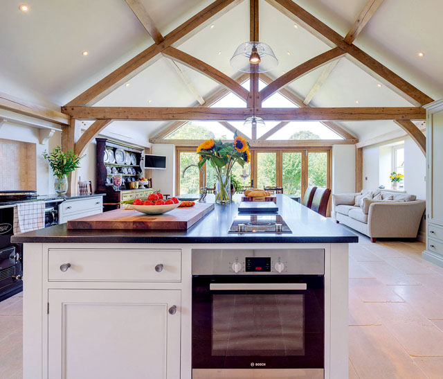 Oak Frame Kitchen Extension Country Life