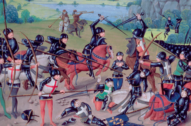 the story of the battle of agincourt