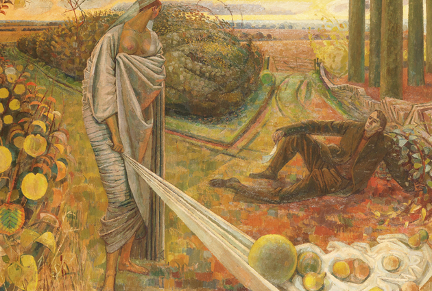 Evelyn Dunbar, Autumn and the Poet feature