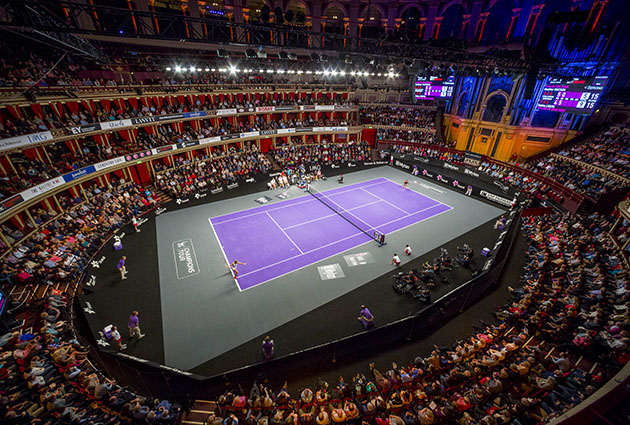 Champions tennis at the royal albert hall for Door 8 albert hall