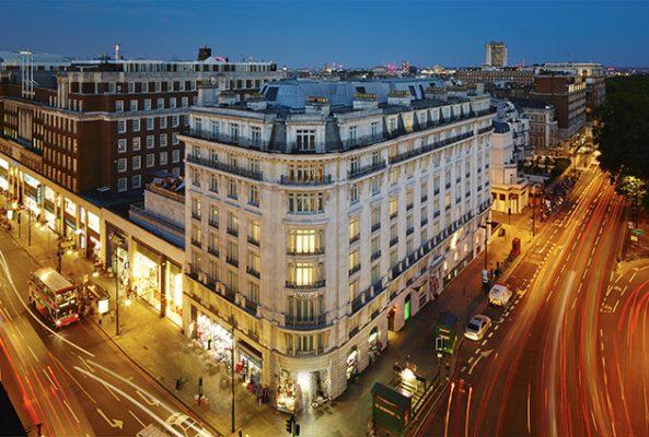 London Marriott Hotel Park Lane feature