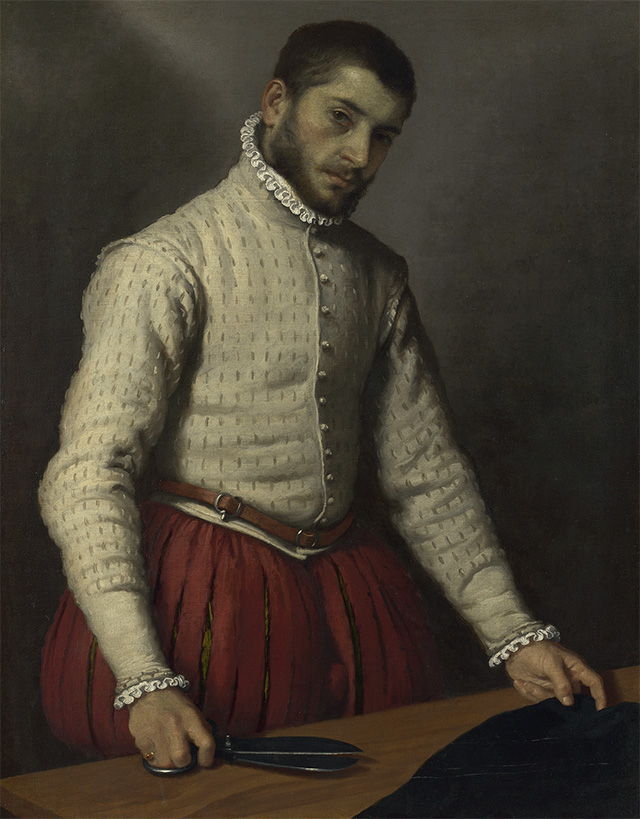 The Tailor by Moroni