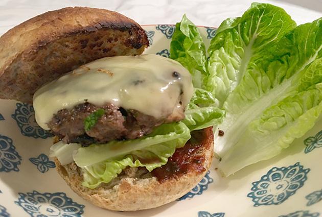 venison burgers recipe