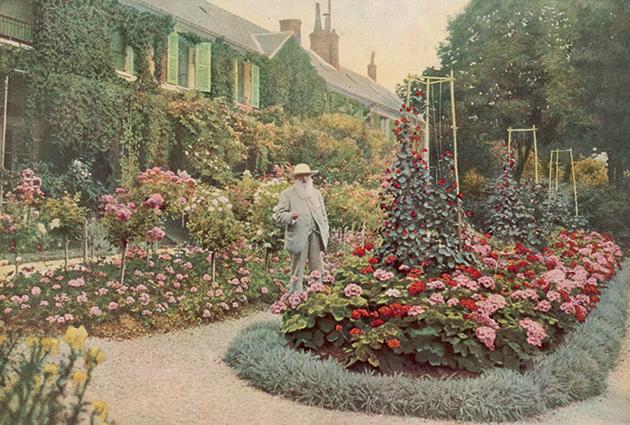 Image Result For Monet Flower Garden Paintings