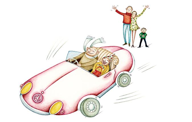 spending the kids inheritance
