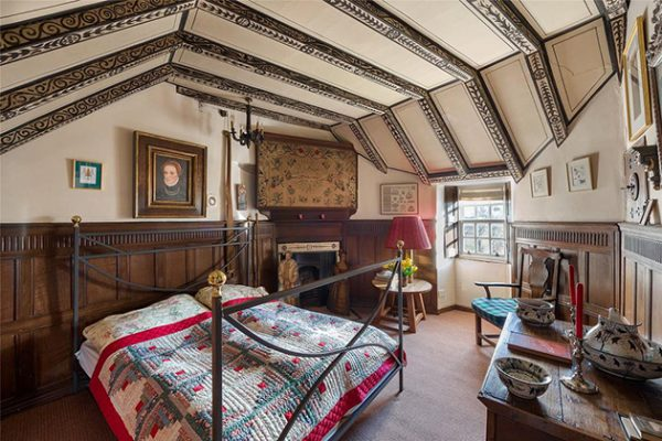 Earshall Castle Bedroom Country Life