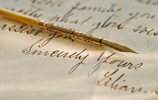 love letters quiz feature