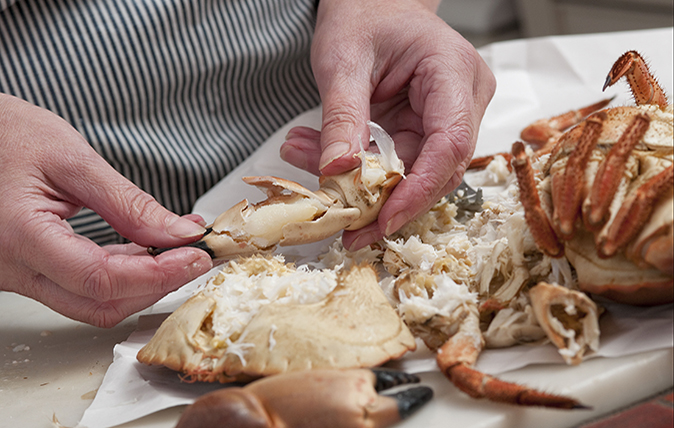 Brilliant crab recipe