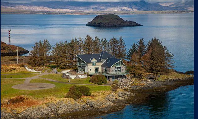 scottish island for sale house2 country life. Black Bedroom Furniture Sets. Home Design Ideas