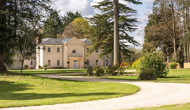 Modern country house for sale in somerset country life for Modern house uk for sale