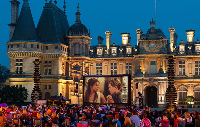 best open air cinema UK