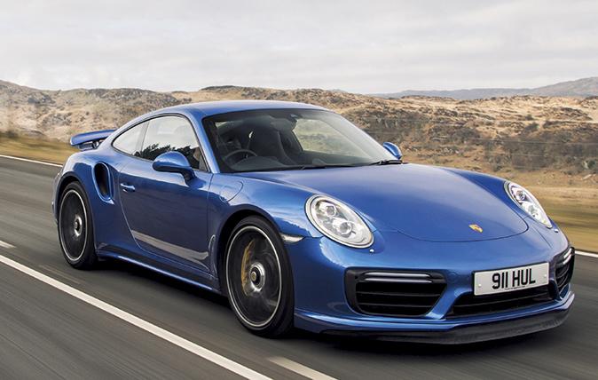 new Porsche 911s
