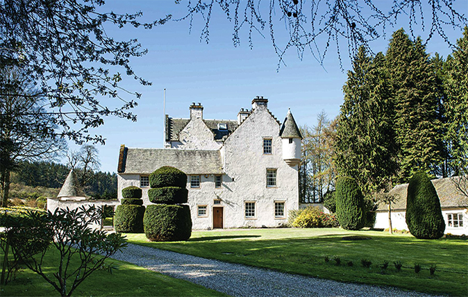 Pertshire fortified house for sale