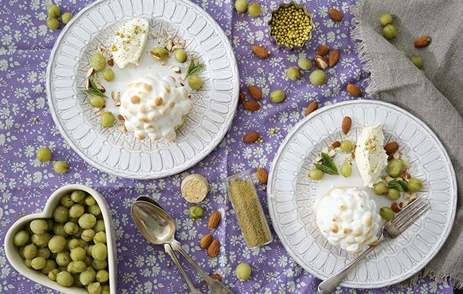 gooseberry baked alaska