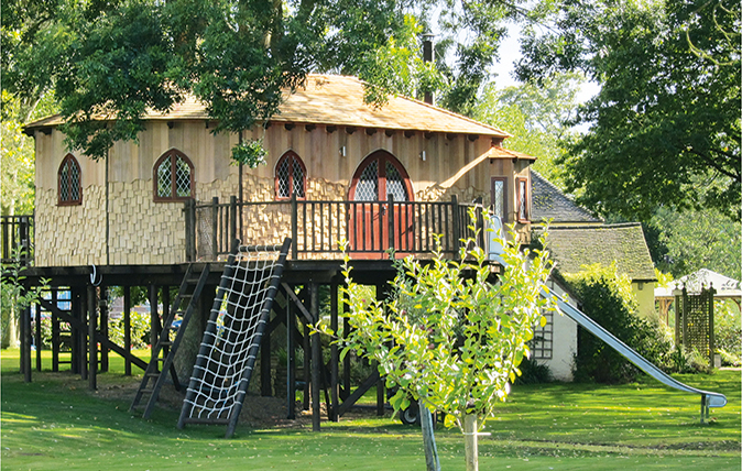 The perfect home office - a treehouse