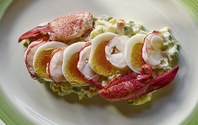 Sophisticated Russian salad with lobster - Country Life