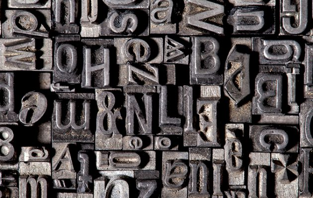 typefaces that changed the world
