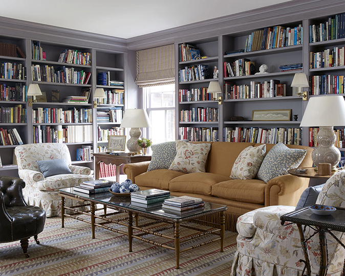 Contemporary library design ideas and tips - Country Life